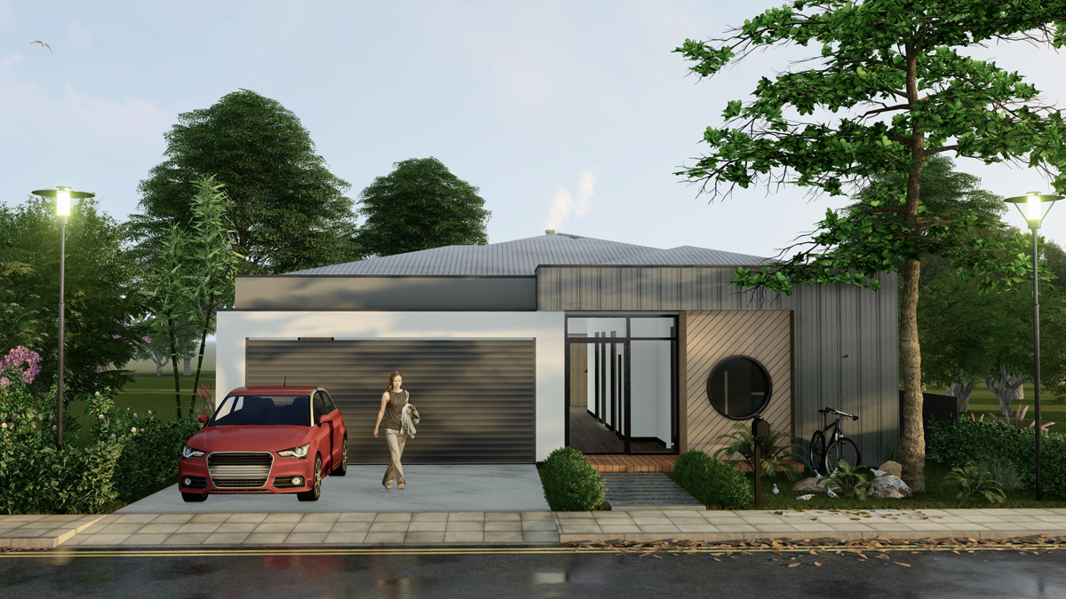 Single Storey House Design Melbourne
