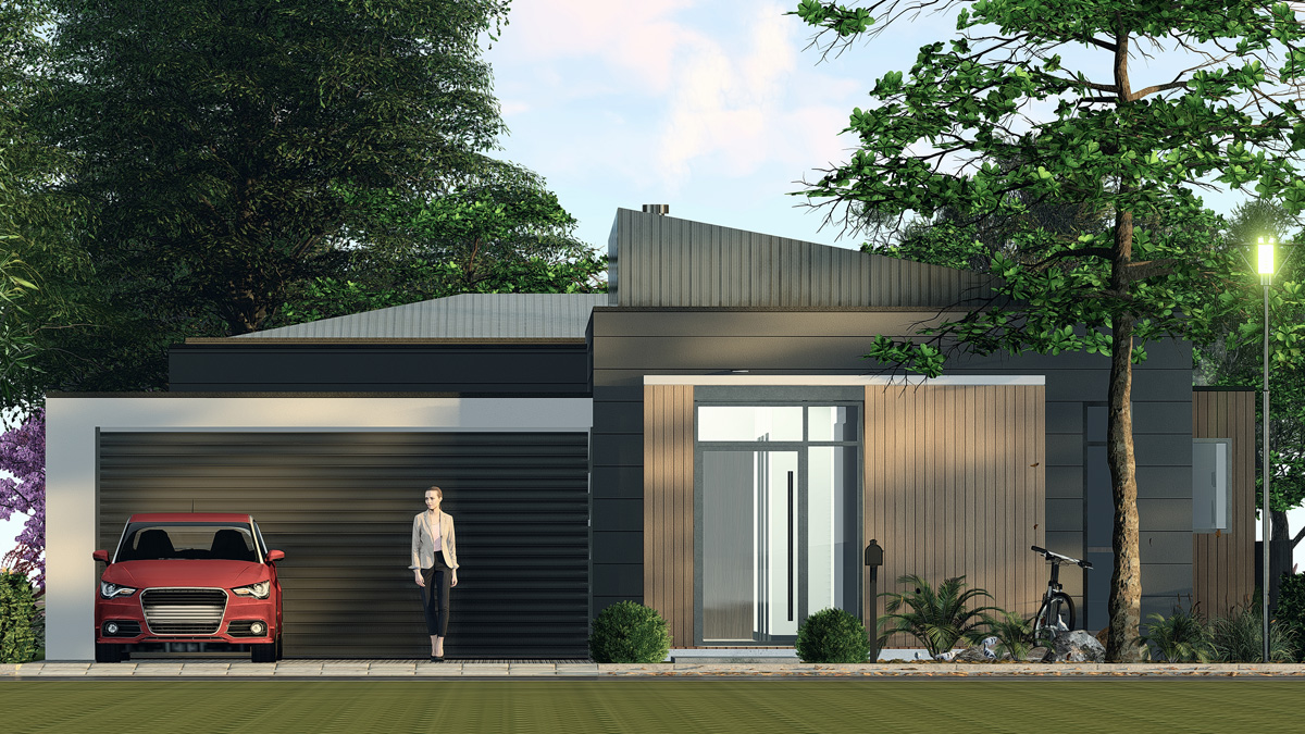 OZMAN Facade 3 Single Storey-First Home Buyers Melbourne