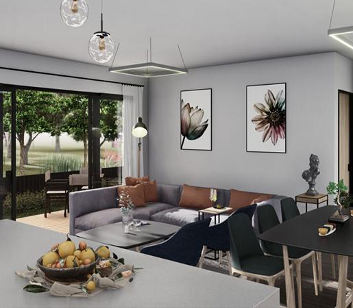 Living-kitchen_Best Home Builders Melbourne