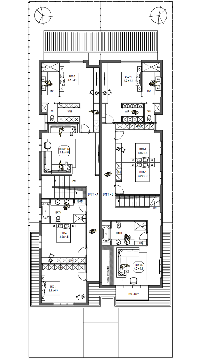 BUSE / 36 FIRST FLOOR PLAN