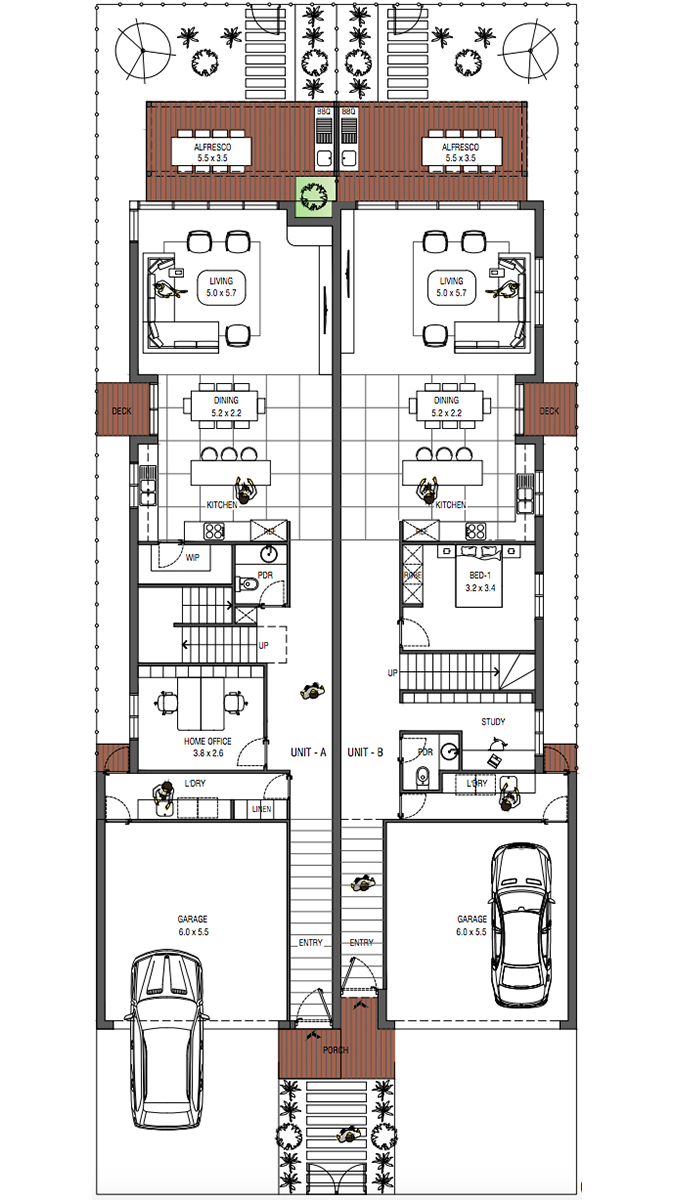 BUSE / 36 GROUND FLOOR PLAN