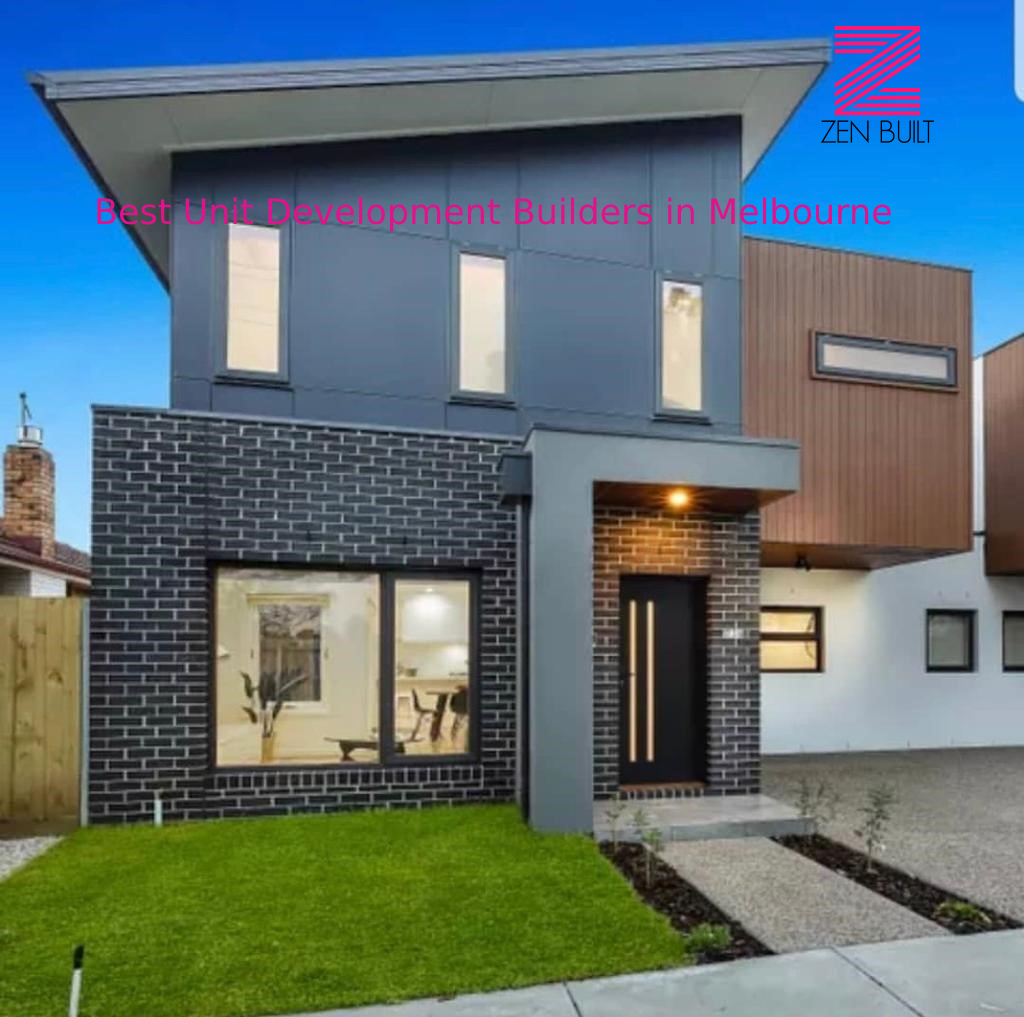 Unit Development Builders in Melbourne